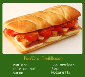 Pan'Oro File&Bacon