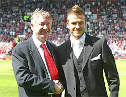Ferguson si Beckham