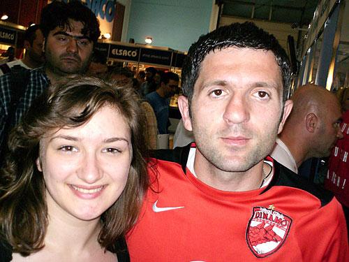 Silvia cu Catalin Munteanu la CERF 2007