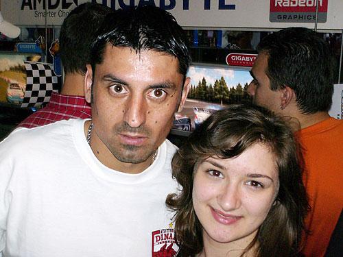 Silvia cu Ionel Danciulescu la CERF 2007
