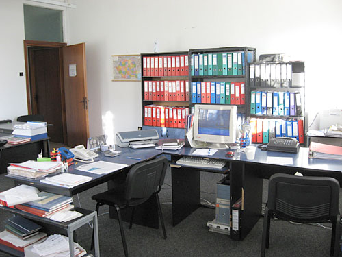 Andreina's workplace