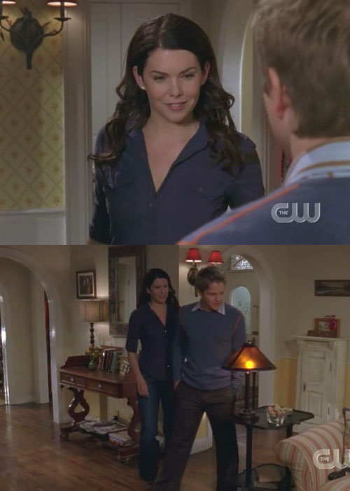 Gilmore Girls continuity mistake 2