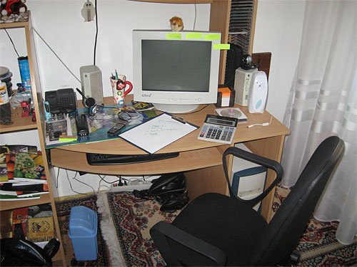 Silvia's workplace