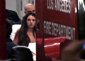 celebra poza cu Britney la spital