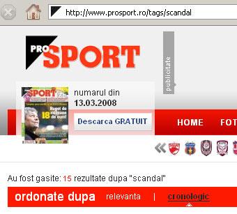 prosport scandal