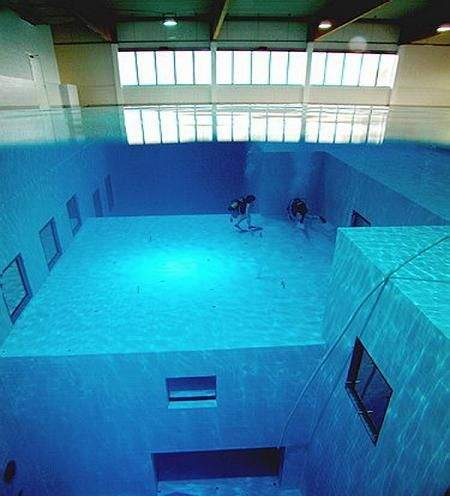 deepest swimming pool 13