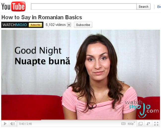 learn romanian 1