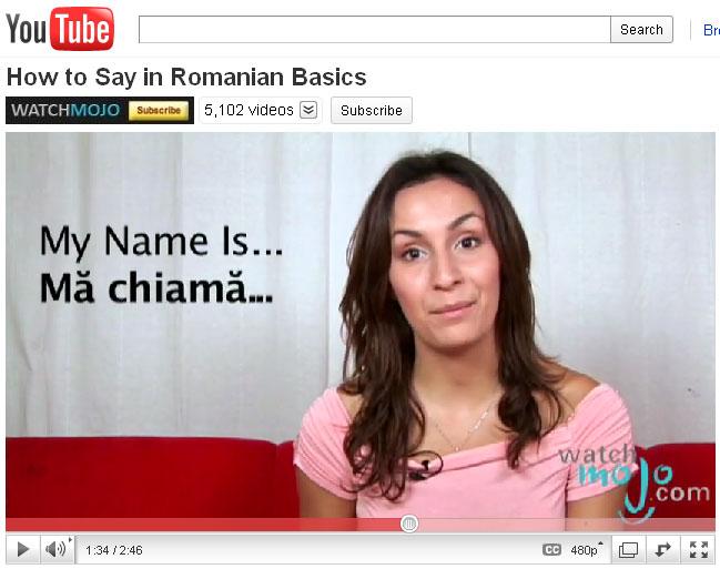 learn romanian 2