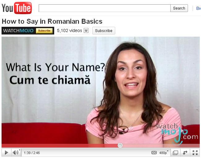 learn romanian 3