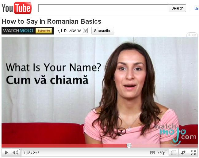 learn romanian 5