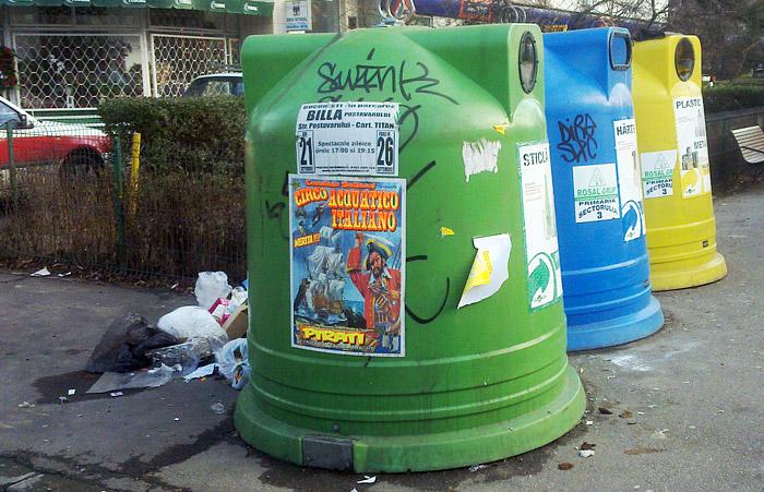 reciclarea la romani