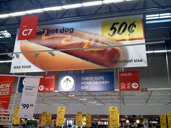 hot dog ikea