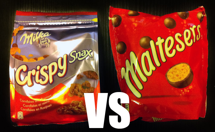 crispy vs maltesers