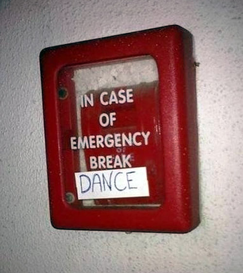 emergency dance