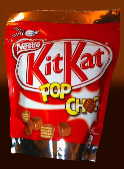 kitkat pop choc