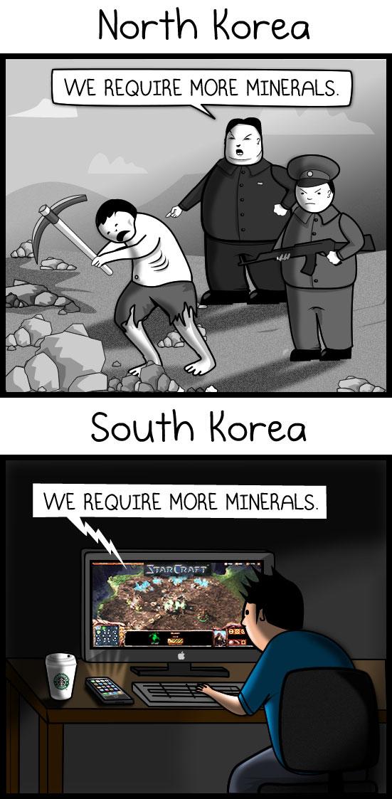 more minerals