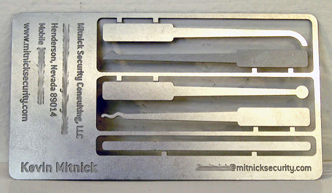 kevin mitnick business card