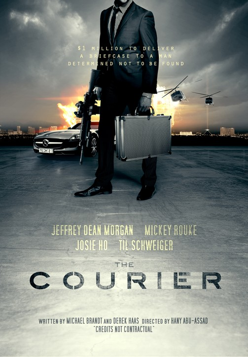 the courier poster mistake