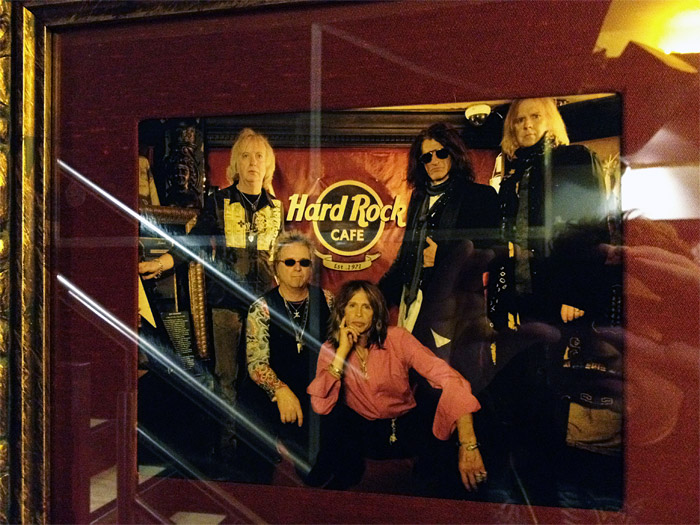 aerosmith hard rock cafe london