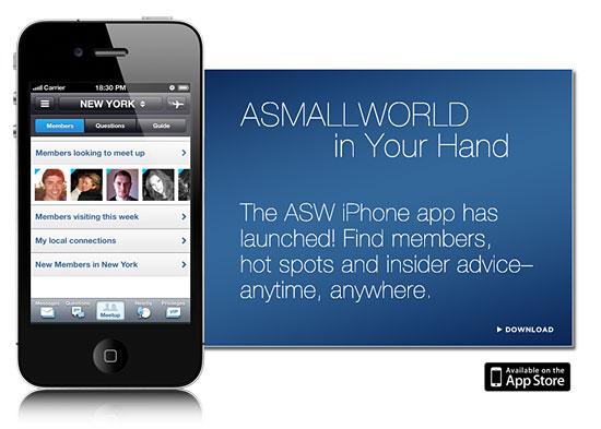 asmallworld app