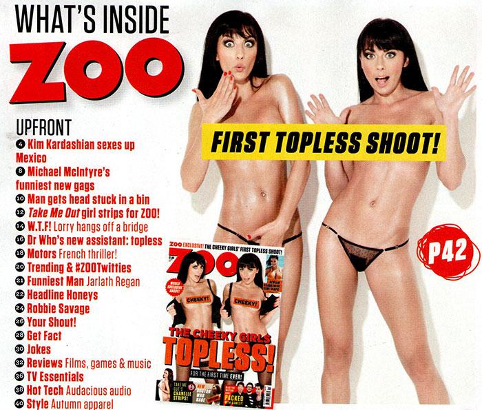 cheeky girls zoo