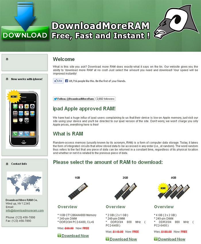 download ram