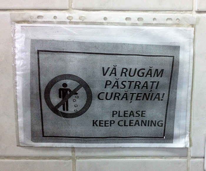 keep cleaning