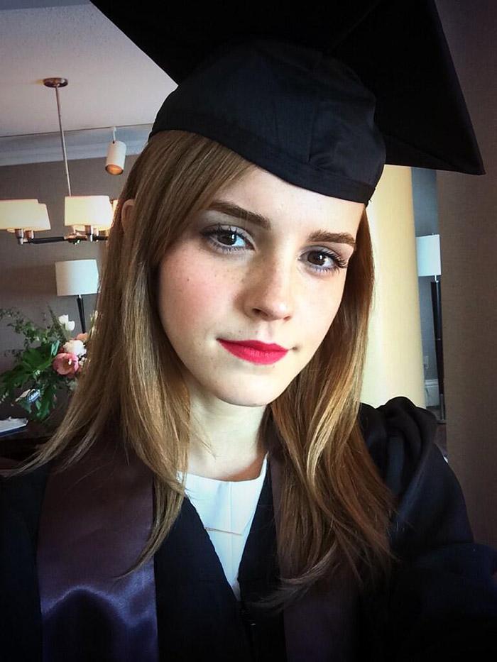 emma watson graduated