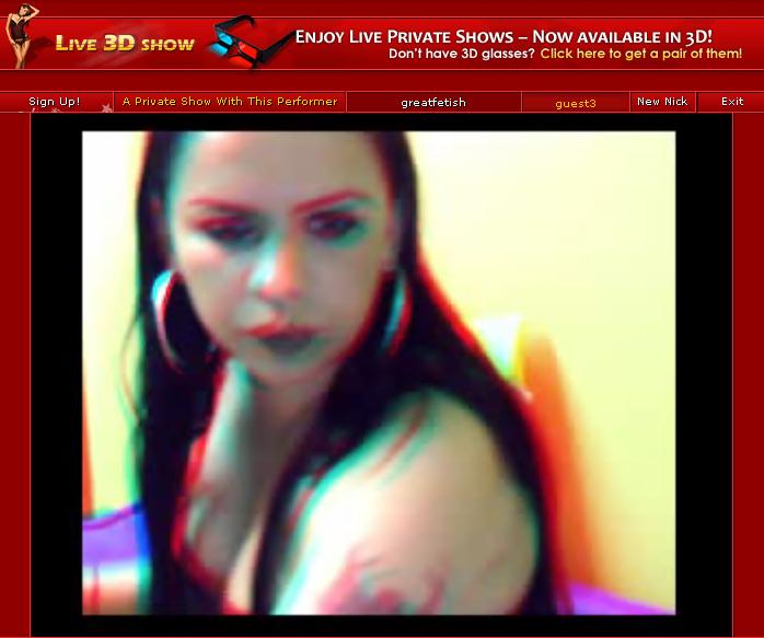 3D webcam porn