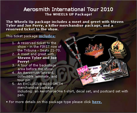 aerosmith wheels up romania