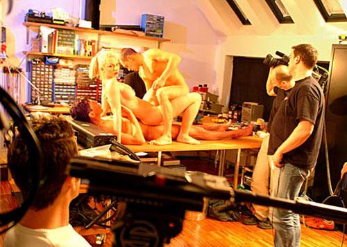 моменты съемок порно фильмов