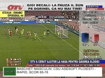 fotbal la otv