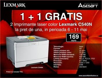 lexmark 1+1