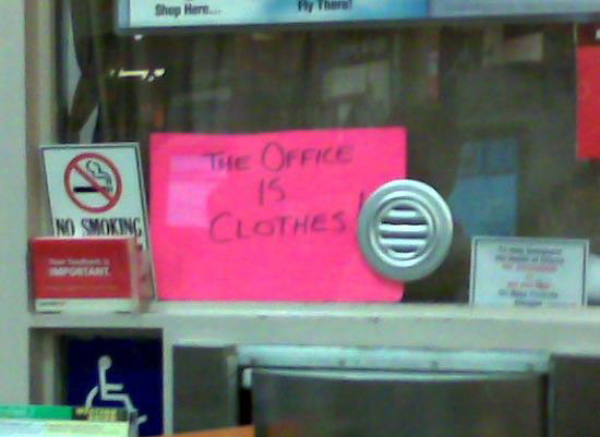 office is clothes
