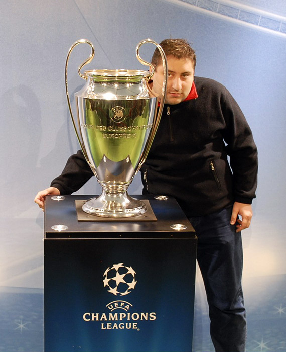 pinkish Uefa Champions League Cup