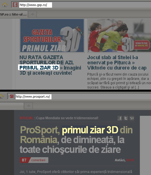 primul ziar 3d