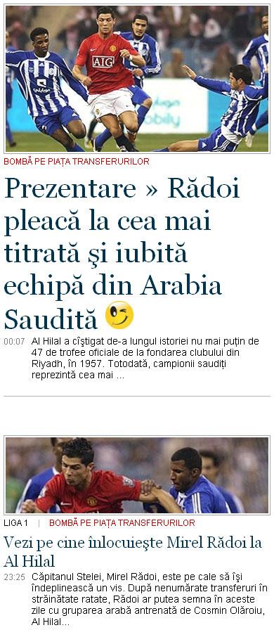 radoi ronaldo