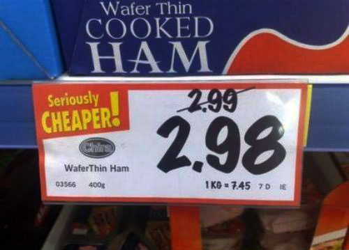 seriously cheaper