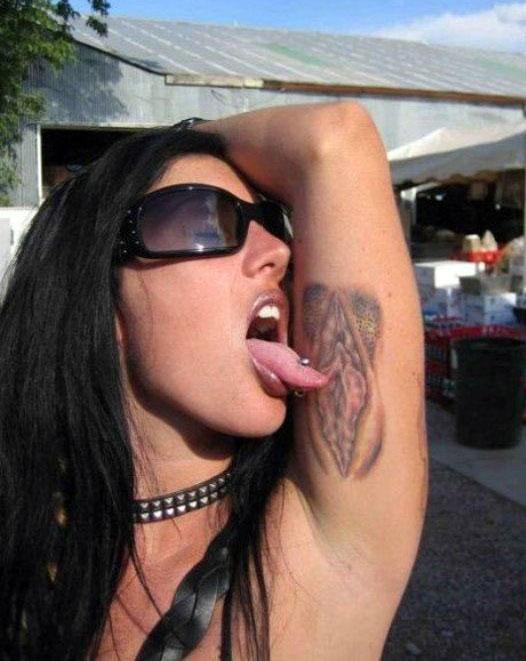 tatuaj cretin